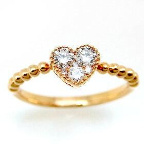 ファッションリングK18PG18金ピンクゴールドダイヤモンドok150213002レディースパワーストーン厄除けのお守り効果(赤色)ジュエリー天然石宝石プレゼント贈り物1点もの母の日春