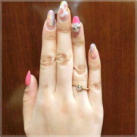 指輪ファッションリングハートモチーフK18PG18金ピンクゴールドダイヤモンドok194370spレディースパワーストーンジュエリー天然石宝石プレゼント贈り物1点もの母の日春【532P19Apr16】532P19Apr16