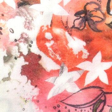 オーガニック カシミア 100% ストール 高品質 GOBI(ゴビ)社 大判ストール アート フラワー(花柄) 通学・通勤 マフラー 羽織りもの アート レア お花 冬物 防寒 卒園 入園 卒業 入学 アパレルトップクラス 最高品質 カシミヤ po565 【autumn_D1810】(e)