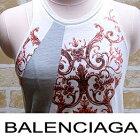バレンシアガBALENCIAGATシャツタンクトップサイズSカラー2色ブルー赤