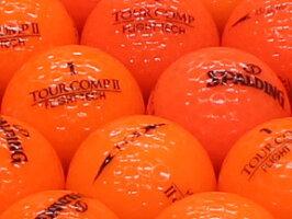【ABランク】【ロゴなし】スポルディングオレンジ混合30個セット