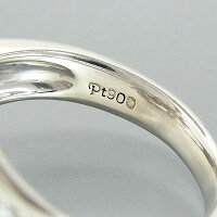 ★Pt900コンクパール指輪/D:0.86ct/7.8g/13号【中古】送料無料