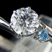 ★Pt900ダイヤモンドリングD0.575ct/F-VS1-EX/4.8g/11号中宝研ソーティング付【中古】送料込