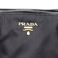 【PRADA】プラダ2wayバッグBR4365ナイロン/レザー/ブラック【中古】