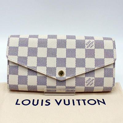 ba07808356c8 ルイヴィトン ダミエ アズールポルトフォイユ·サラ長財布 N63208【】 機能性の高い定番財布「ポルトフォイユ·サラ」です。
