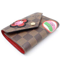 750ce9f65a9e LOUIS VUITTON】ルイ·ヴィトン ダミエ ポルトフォイユ·ヴィクトリーヌ ...
