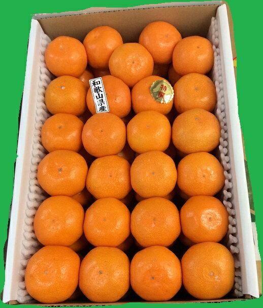 【有田特選こだわりみかん】1箱約4.5kg・Sサイズ