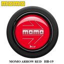 【正規品】MOMO ホーンボタン HB-19 MOMO ARROW RED(モモ ...