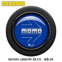 【正規品】MOMO ホーンボタン HB-20 MOMO ARROW BLUE(モモ ...
