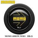 【正規品】MOMO ホーンボタン HB-21 MOMO ARROW NERO(モモ ...
