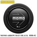 【正規品】MOMO ホーンボタン HBR-02 MOMO ARROW MATT BLACK...