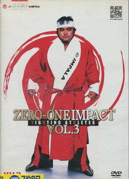 ZERO-ONE IMPACT VOL.3【中古】中古DVD【ラッキーシール対応】