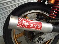 エイプ50ショート菅メッキ