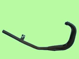 XJ400E/Dスリム管マフラー(黒)