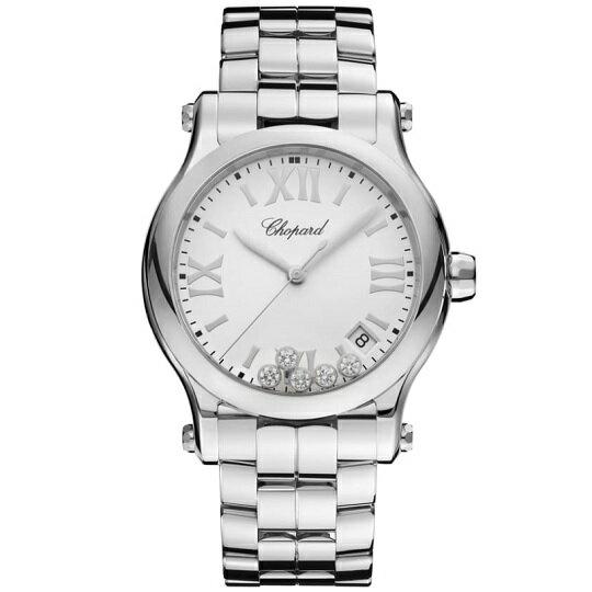 ショパールChopardハッピースポーツレディース腕時計278582-300230%OFF新品・正規品(国際保証書請求はがき有)