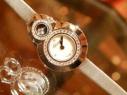 【新品】ショパールChopardハッピーダイヤモンド204412-1001腕時計/女性/レディース/Lady's/時計/ウオッチ/腕時計/watch/高級/ブランド