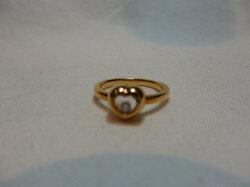 ショパールK18RGダイヤモンドリングD0.03ct