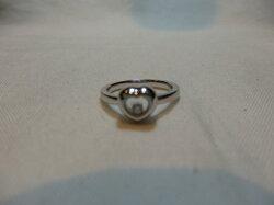 ショパールK18WGダイヤモンドリングD0.03ct