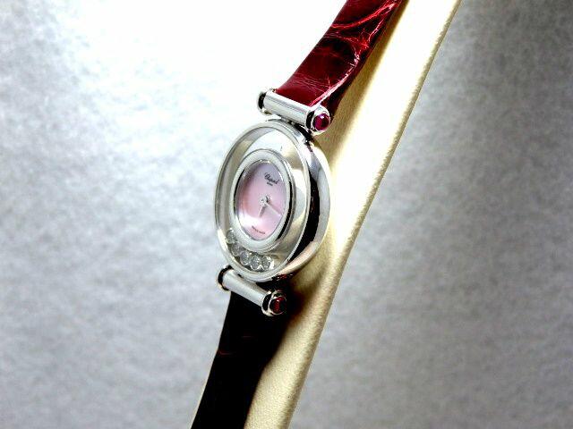 ショパールChopardパッピーダイヤモンドレディース腕時計204780-1014新品・正規品(国際保証書請求はがき有)