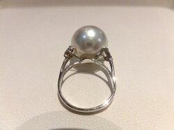PT南洋真珠ダイヤリング/F2252/パール14.2mmD0.16ct/指輪/ゆびわ/ring/ジュエリー/ダイヤ/女性用/レディース/プレゼント/ギフト/お買い得/オススメ/送料込み/宝石