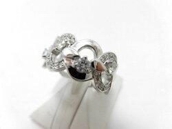 【50%Off】K18WGダイヤリングF9698/D0.41ct/\438,000⇒\219,000/ダイヤモンドリング/指輪/ゆびわ/ring/ジュエリー/ダイヤ/女性用/レディース/プレゼント/ギフト/お買い得/オススメ/送料込み/宝石