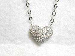 18KWGダイヤペンダントネックレス/ネックレス/ねっくれす/ジュエリー/女性用/レディース/プレゼント/ギフト/お買い得/オススメ/送料込み/宝石