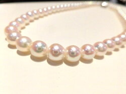 SVあこや真珠ネックレス/真珠7mm/42cm/F8581/ジュエリー/真珠/パール/ネックレス/