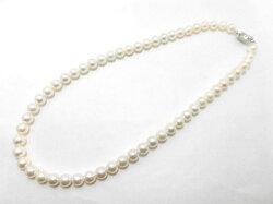 SVアコヤ真珠ネックレス/真珠7〜7.5mm/42cm/ジュエリー/真珠/パール/ネックレス/