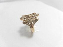 K18ダイヤリング/G635/リング/指輪/ゆびわ/ring/ジュエリー/女性用/レディース/プレゼント/ギフト/お買い得/オススメ/送料込み/宝石