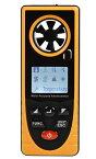 限定1台多機能ポケット高性能低価格気象メーター/気象計、風速計 温度 露点 湿度 大気圧 海抜 照度 ウィンドチルインデクス データ記録機能