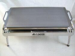 バーベキュー鉄板/コールマン/ロゴス/EZCステンチューブラルプラスL/EZCチューブラルプラスL