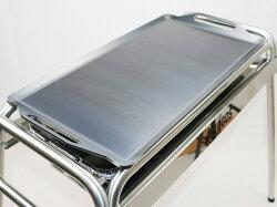 バーベキュー/鉄板/ロゴス/お掃除らくちんステンチューブラルL・Gプラス(鉄板付き)/81060410