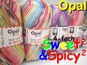 Opal 靴下用毛糸 Sweet2_&_Spicy2 4-fach【Opal各種2玉以上お買上げで送料無料】