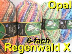 Opal 毛糸 RegenWald 10 6-fach【合太】【Opal各種2玉以上お買上げで…