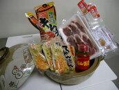 家庭用イノシシ肉(一鍋で三度美味しいいのししキムチ鍋6点セット肉300g×3点)キムチ鍋スープキムチの素ちゃんぽん麺付