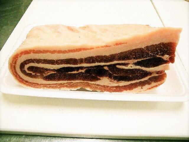 照本食肉加工所『猪肉バラ肉ブロック』