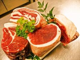 業務用猪肉イノシシ肉いのしし肉(ロース肉ブロック(上)500g)