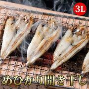 【常磐産】目光り開き干物(5枚)