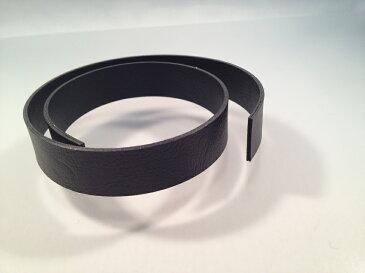 合成皮革持ち手ベルトハードタイプ共合わせ(20mm巾×45cm)カット済 黒