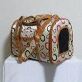 【犬・猫用キャリーバッグ】3ドアタイプ ペットキャリー Mサイズ