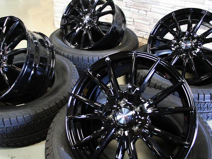 タイヤ・ホイール, スタッドレスタイヤ・ホイールセット OK NXVELVA SPORT177.0J40 5114 Xi322565R17 4SET