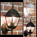 壁掛け照明 アンティーク調 ランプ オシャレな外灯風なデザイン♪アベニ...