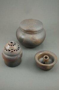 D−5輝光窯変小丸花器香炉付き骨壷5号