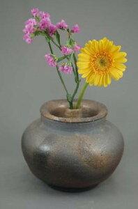 D−5輝光窯変小丸花器香炉付き骨壷5号生前はは花器として楽しめます。