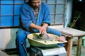 荒川明の陶芸研修DVDA-3電動ロクロの基礎(右きき左きき)