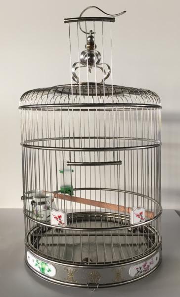 高級ステンレス製 鳥かご バードゲージ 鳥小屋 送料無料【お買い物マラソン】【48時間限定ポイント10倍】【10P05Aug17】