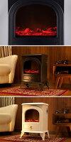 【全国送料無料】憧れの暖炉生活!だんろ・暖炉暖炉型アンティークデザイン癒される重厚感たっぷりのヒーター!600W⇔1200W・暖炉型ヒーター暖炉型ファンヒーター・セラミックファンヒーター足元暖房・セラミックヒーター・ホワイト・ストーブ・暖房・暖房器具/
