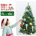 【訳あり・シーズンオフの為】【全国送料無料 メール便発送】壁掛けクリスマスツリー・ヌードツリーxmas・クリスマス・ツリー・簡単設置・タペストリー70×100cm・シールやオーナメントを使用するとゴージャスになります。【EN】/タペストリー70×100cm