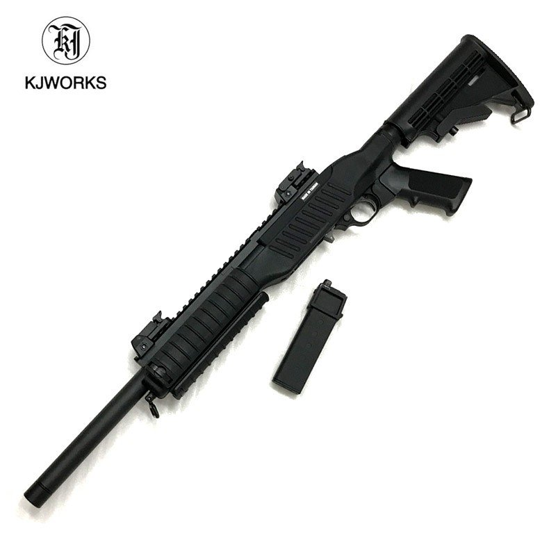 あす楽対応/KJワークス ガスブローバックライフル スターム・ルガー 10 22モデル ホークアイ STDスタンダード ガスライフル