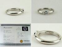 スタージュエリーPt950ダイヤモンドリングD=0.324ct#5【】